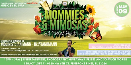 """Mommies and Mimosas"" A Mothers Day Brunch tickets"