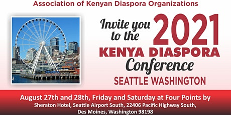2021 KENYA DIASPORA CONFERENCE tickets