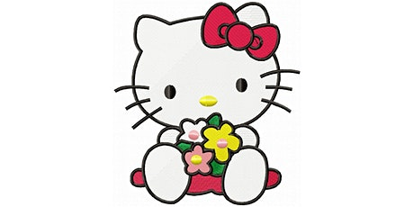 30min Draw Characters Art Lesson - Hello Kitty @3PM  (Ages 5+) tickets