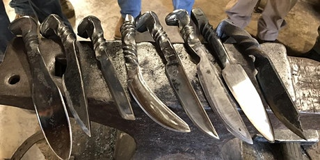 Railroad Spike Knife Class at War Horse Forge tickets