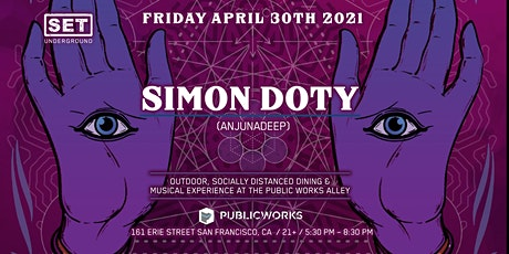 SET Underground Presents: Simon Doty @ Public Works Park tickets