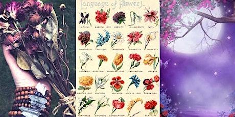 Flower Moon: The Language & Magick of Flowers virtual workshop-Jenn Morris tickets