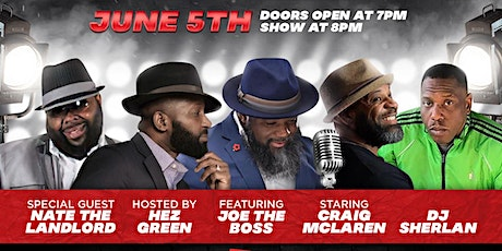 Beards & Button Ups Comedy Show  & Birthday Party tickets