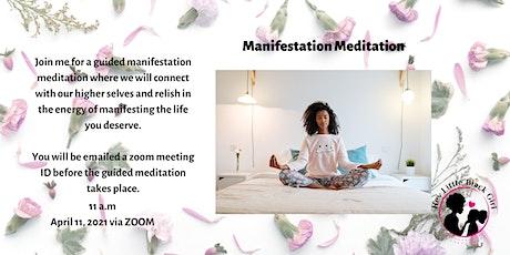 Manifestation Meditation tickets
