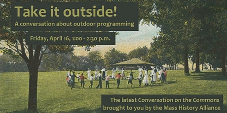 Conversations on the Commons: Take it outside! tickets