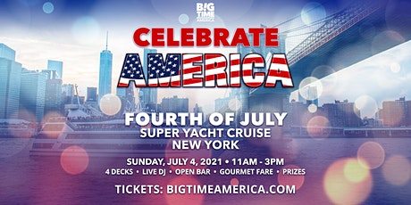 Fourth of July Super Yacht Cruise - New York tickets