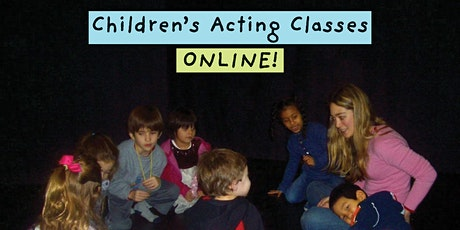 Children's Acting Class Online  Ages 7 - 12 tickets