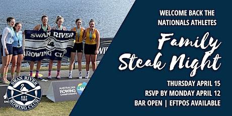 Celebrating Nationals Athletes | Club Steak Night tickets