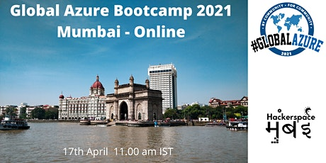 Global Azure Bootcamp 2021 - Mumbai - Virtual tickets