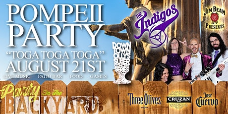 Downtown Olly's Summer Concert Series: Pompeii Party (Toga Party) tickets