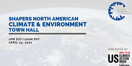 Shapers North American Climate Town Hall—US Climate Action Week Side Event tickets