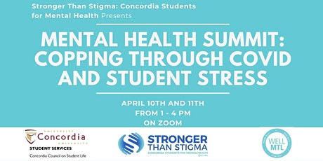 STS Mental Health Summit: coping through COVID and student stress tickets