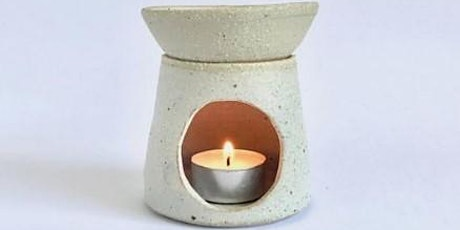 Oil Burner | Pottery Workshop w/ Siriporn Falcon-Grey tickets