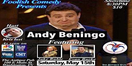 Foolish Comedy presents Andy Beningo tickets