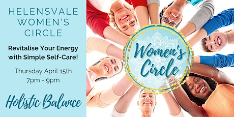 Women' s Circle: Revitalising Energy with Simple Self-Care tickets