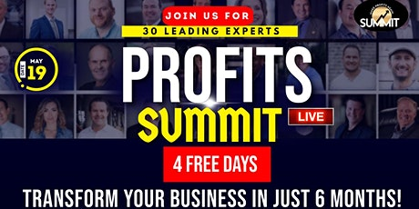 FREE 4 DAY BUSINESS SUMMIT | PROFITS tickets