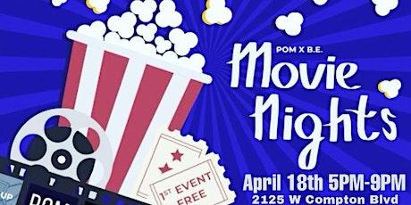 POM x B.E. Movie Nights tickets