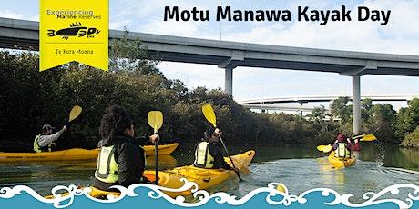 Motu Manawa Kayak Day (Sun) tickets