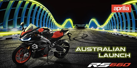 Aprilia Australia RS 660 Customer Launch tickets