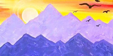 IN STUDIO CLASS Mountain Sunset Mon May 31st 6:30pm $30 tickets