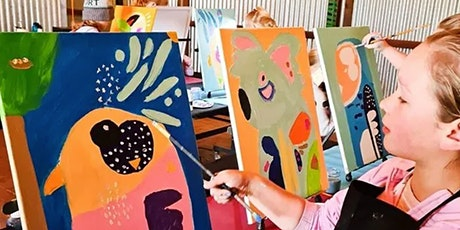 Kids Brush Party - Discovery Workshop with Caroline Wall tickets