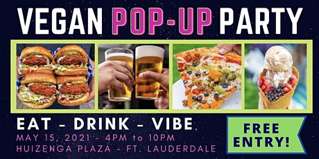 VEGAN POP-UP PARTY tickets