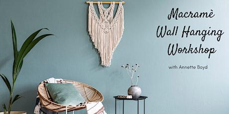 Macrame Wall Hanging Workshop tickets