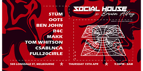 SOCIAL HOUSE - Red Pill tickets