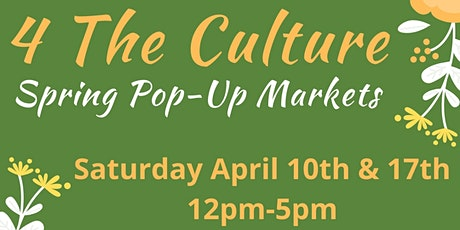 4 The Culture Pop-Up Markets tickets