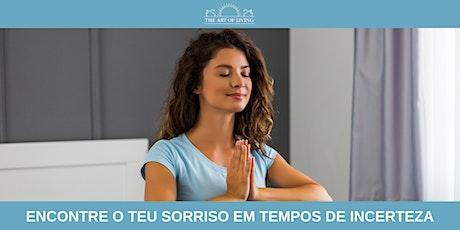 SESSÃO ABERTA DE RESPIRAÇÃO E MEDITAÇÃO tickets