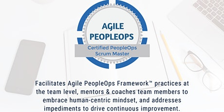 APF Certified PeopleOps Scrum Master™ (APF CPSM™) | May 22-23, 2021 tickets