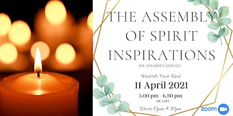 SUNDAY ASSEMBLY Service  of Spiritualist Philosophy Speakers non-Mediumship tickets