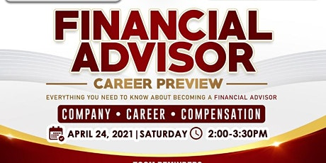Financial Advisor Career Preview tickets