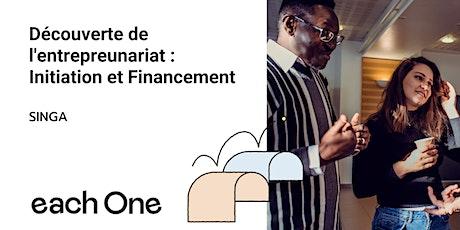 Découverte de l'entrepreneuriat comme projection : initiation & financement billets