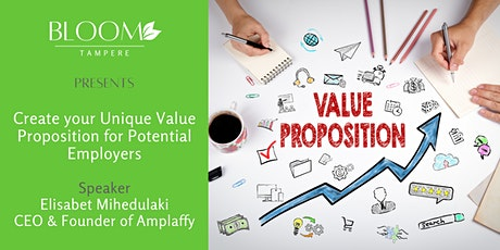 Create your Unique Value Proposition for potential employers tickets