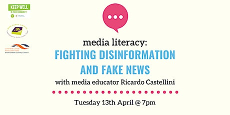Media Literacy 2: Fighting Disinformation and Fake News tickets