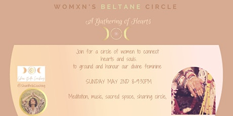 BELTANE CIRCLE SANCTUARY IN THE  GATHERING OF HEARTS tickets