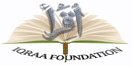 Iqraa foundation mosque 1442 Ramadan Tarawih prayer tickets