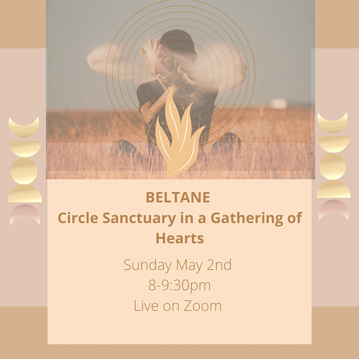 BELTANE CIRCLE SANCTUARY IN THE  GATHERING OF HEARTS image
