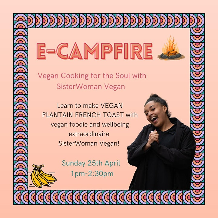 e-Campfire: Vegan Cooking for the Soul with SisterWoman Vegan image