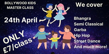 KIDS SPECIAL BOLLYWOOD DANCE EVENT! tickets