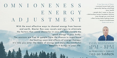 OmniOneness Energy Adjustment tickets