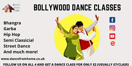 LADIES ONLY BOLLYWOOD DANCE CLASS tickets