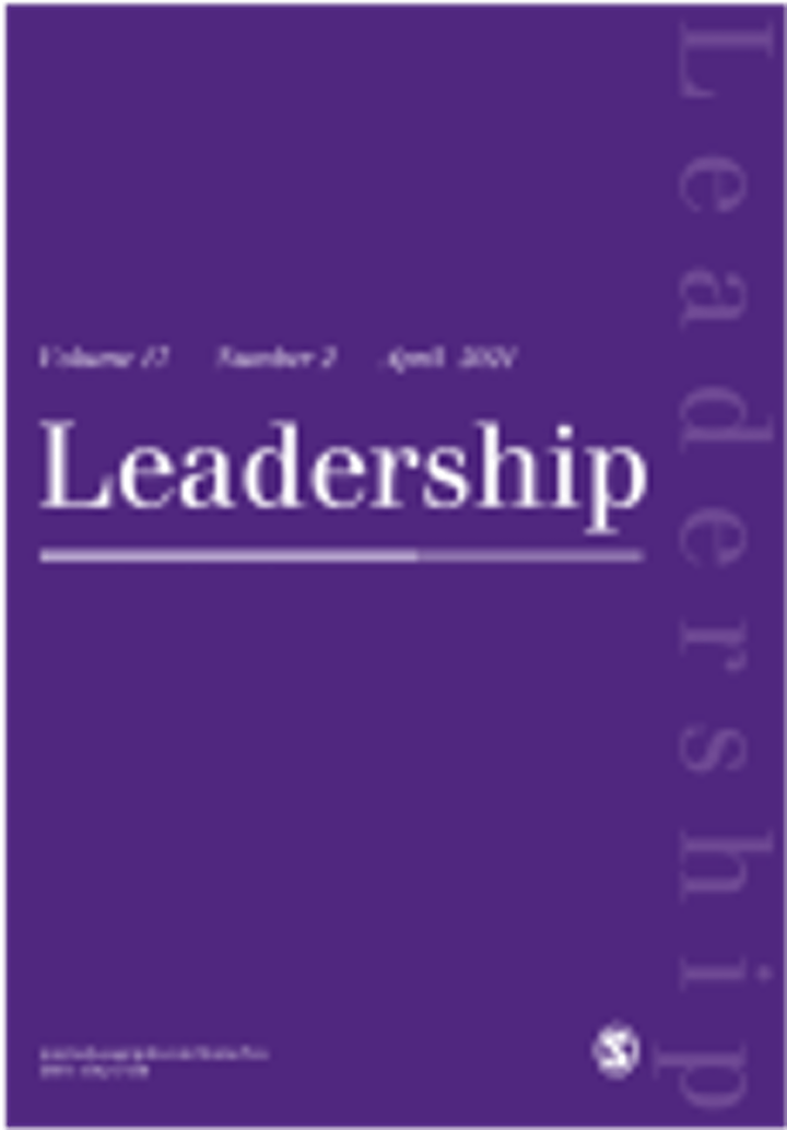 CMS InTouch: Publishing Critical Work in Leadership image