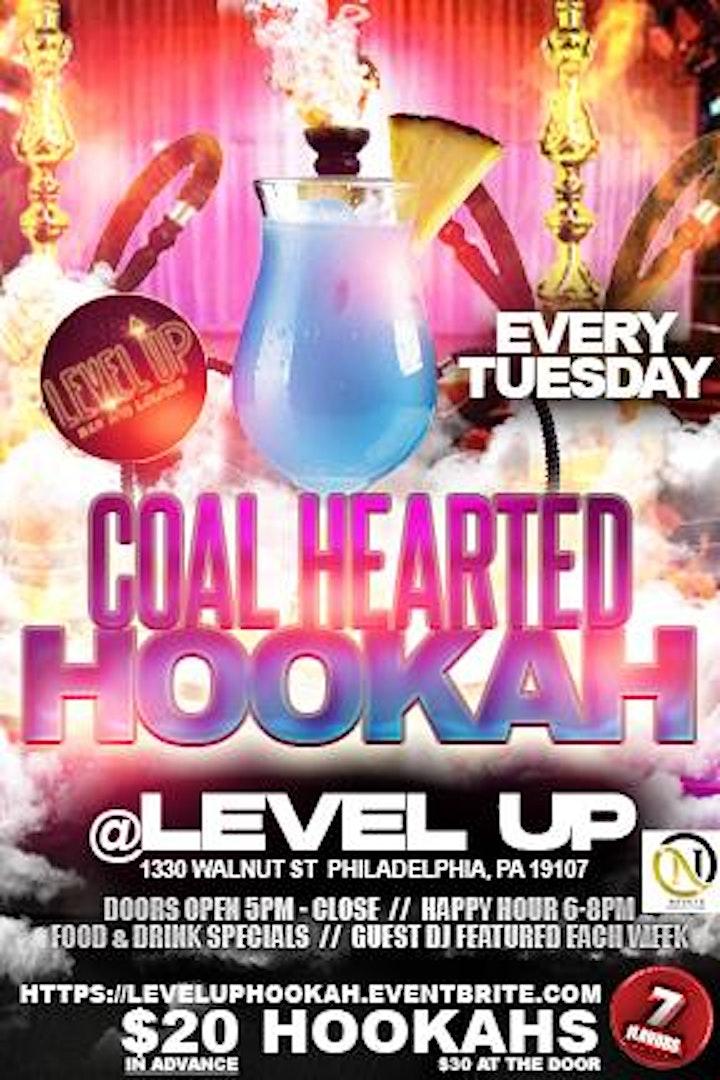 Hookah Night with Coal Hearted Hookah!! image