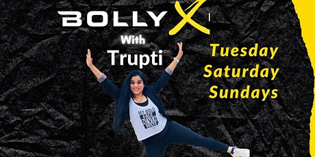 BollyX workout with Trupti tickets