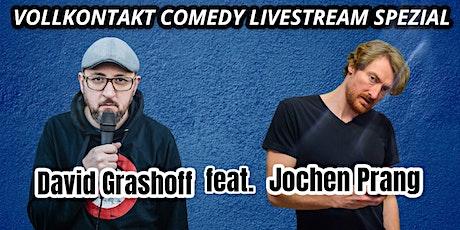 Wuppertal:Vollkontakt Comedy Livestream | David Grashoff feat. Jochen Prang Tickets
