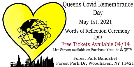 Queens Covid Remembrance Day - Words of Reflection Ceremony tickets