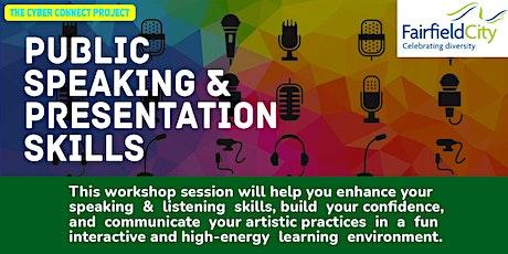 Public Speaking and Presentation Skills Workshop tickets
