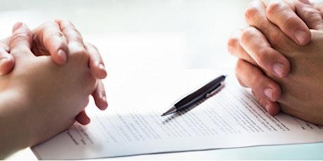 Entrevista y Redacción  para acuerdos de Mediación entradas